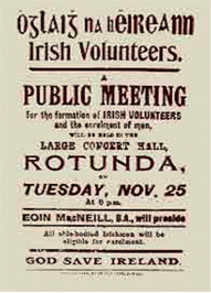 Irish Volunteers poster