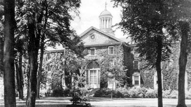 Dickinson College: west front